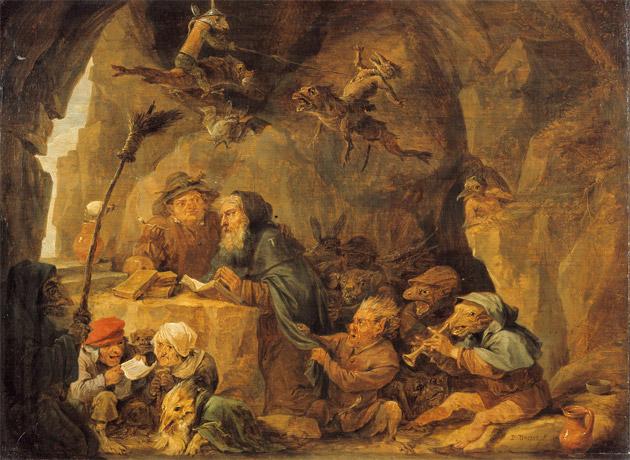 Verzoeking van Antonius abt, Teniers, David (II) (schilder)