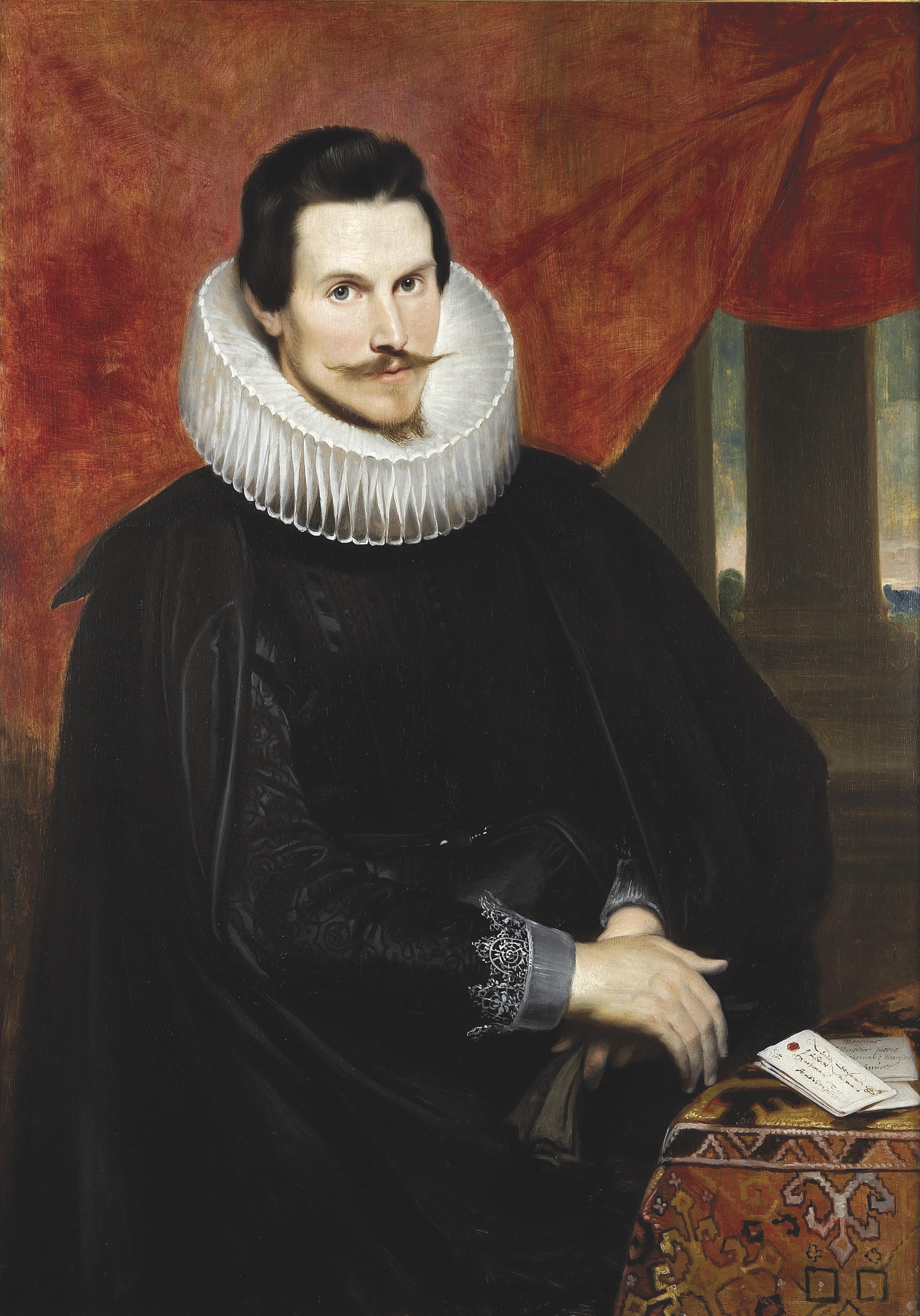Cornelis de Vos, portret van Joris Vekemans