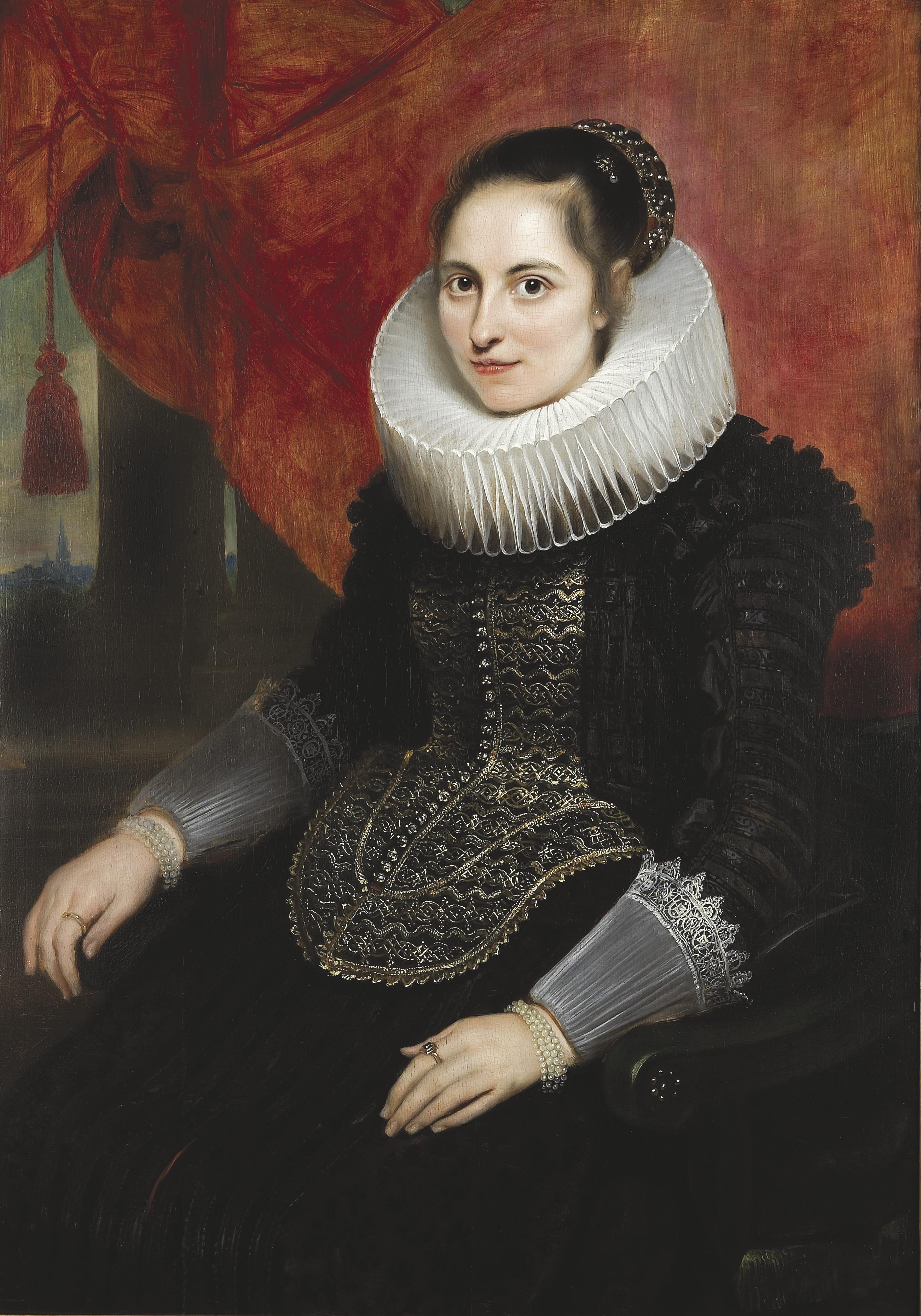 Cornelis de Vos, portret van Maria van Ghinderdeuren
