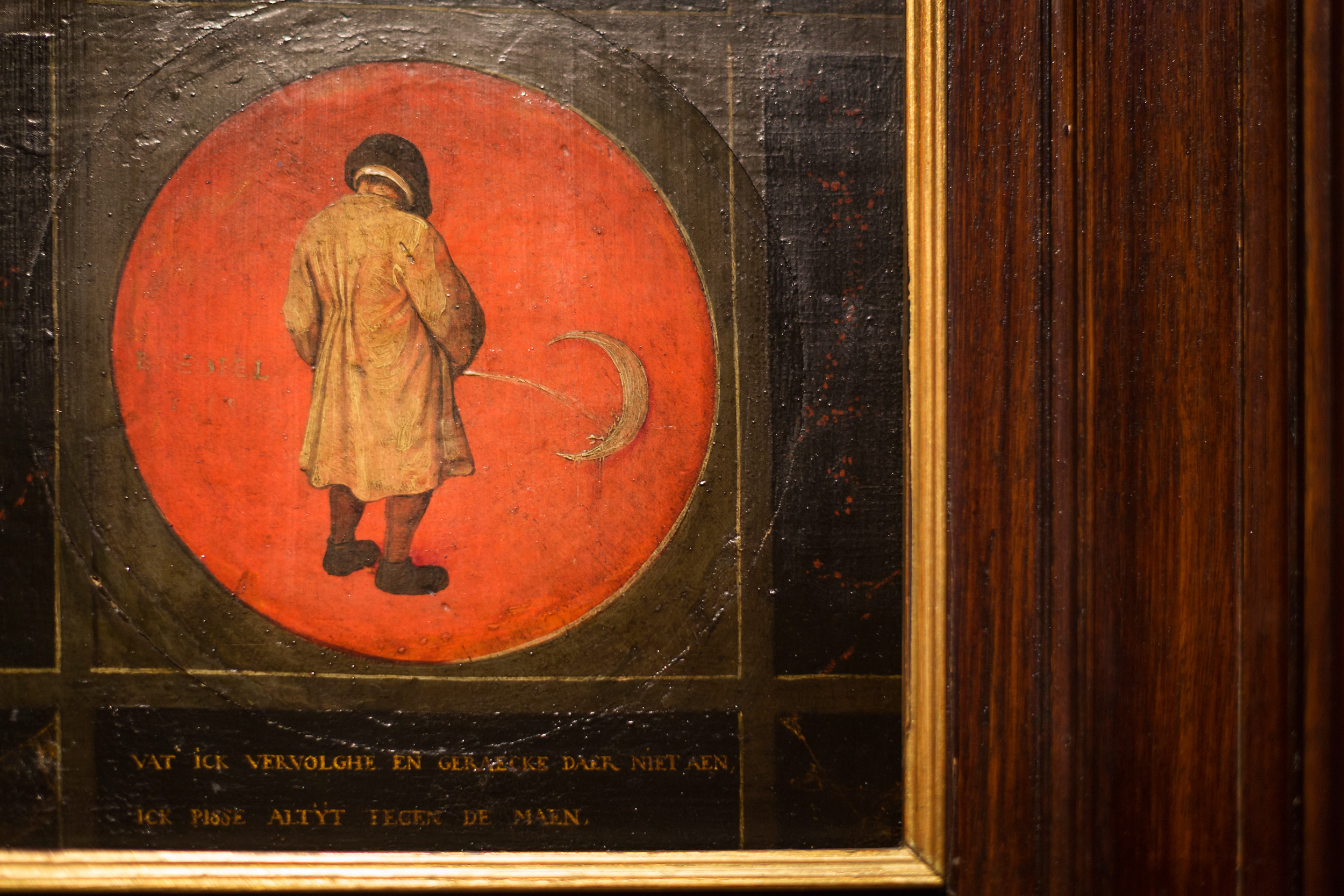 Bord van Bruegel