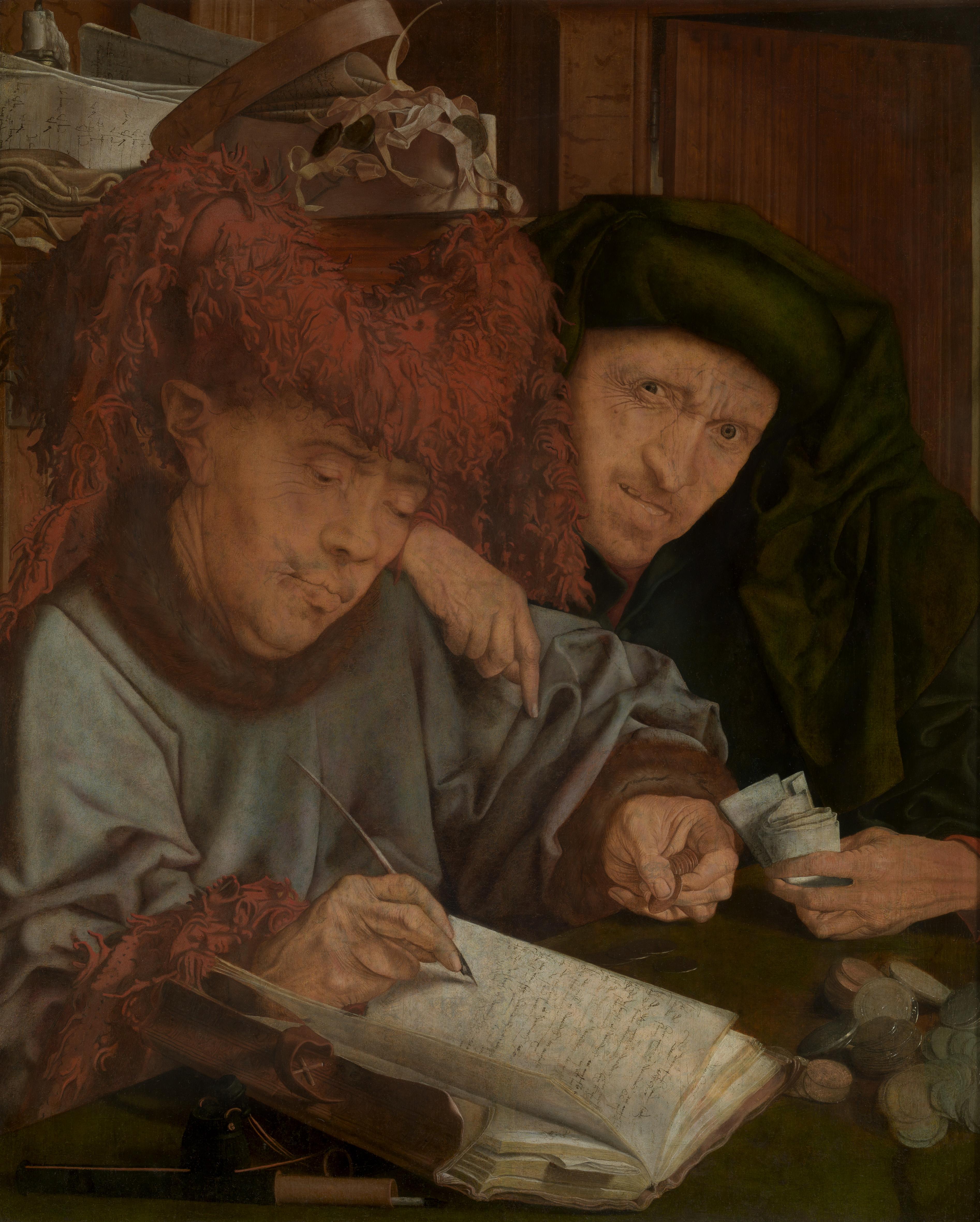 Marinus van Reymerswale, Stadsontvanger, eerste helft 16de eeuw