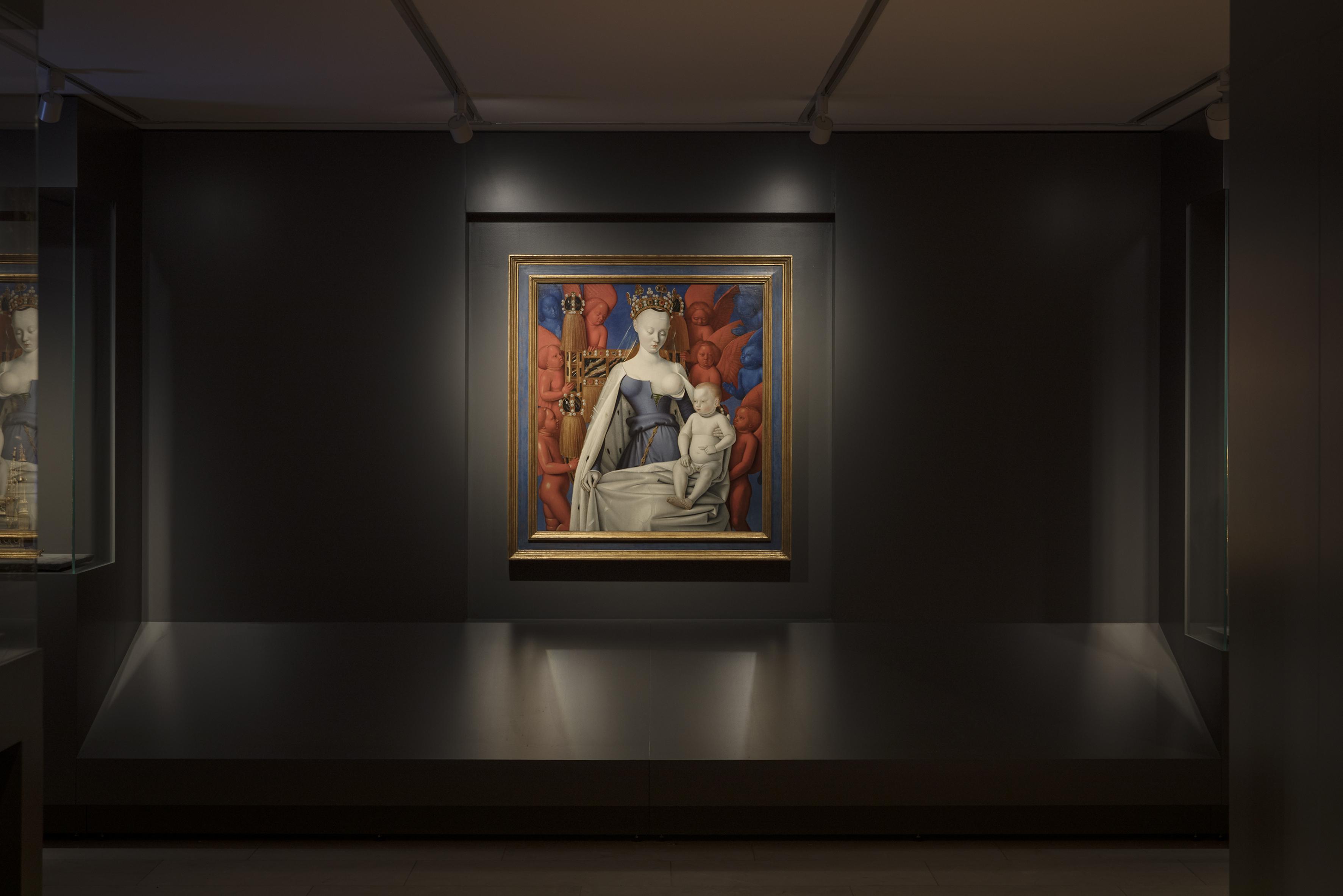 De Madonna van Fouquet. Foto: Ans Brys.