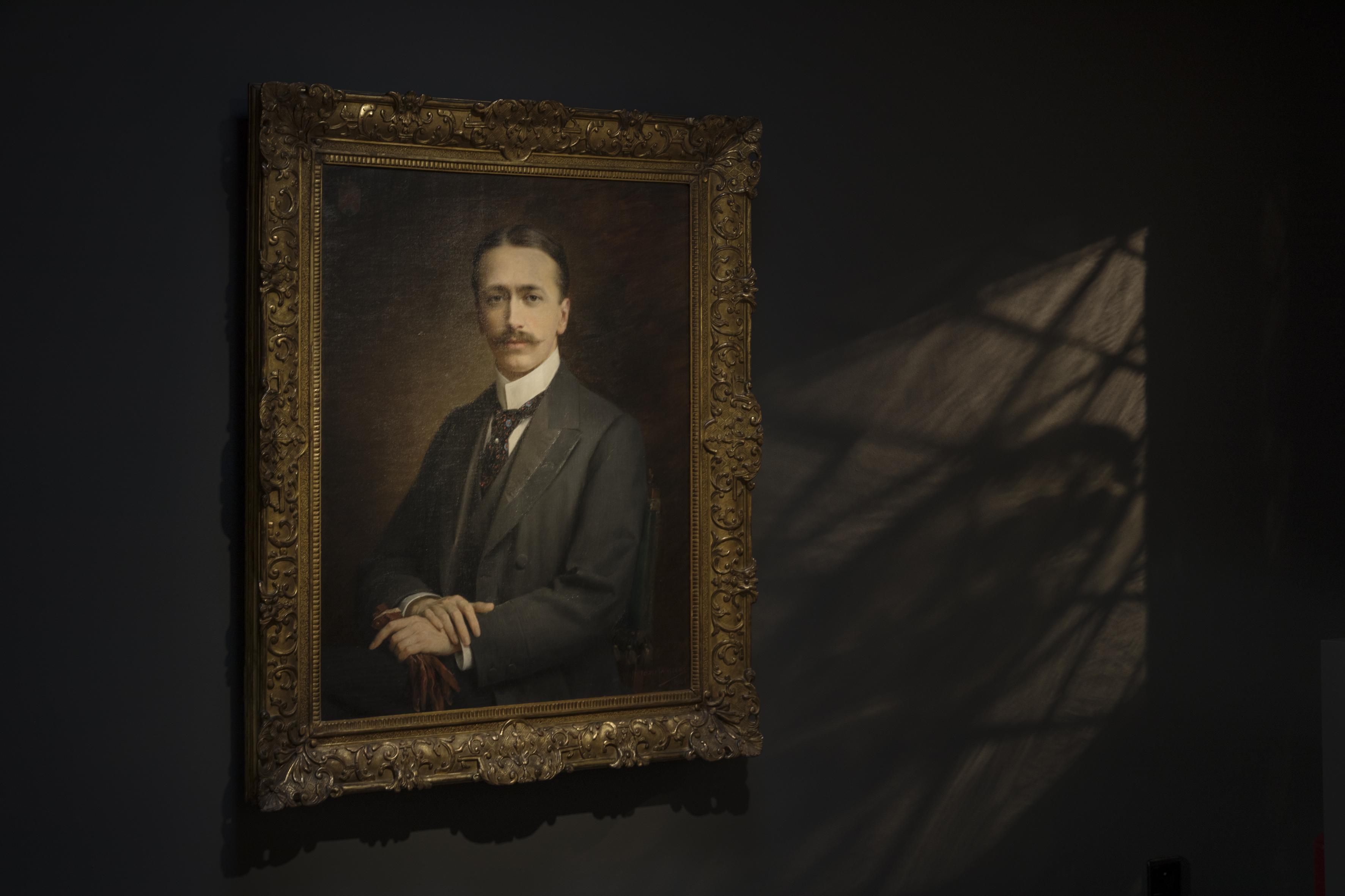Jozef Janssens, portret van Fritz Mayer van den Bergh