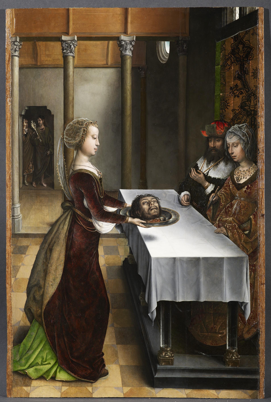 Juan de Flandes, Feestmaal van Herodes