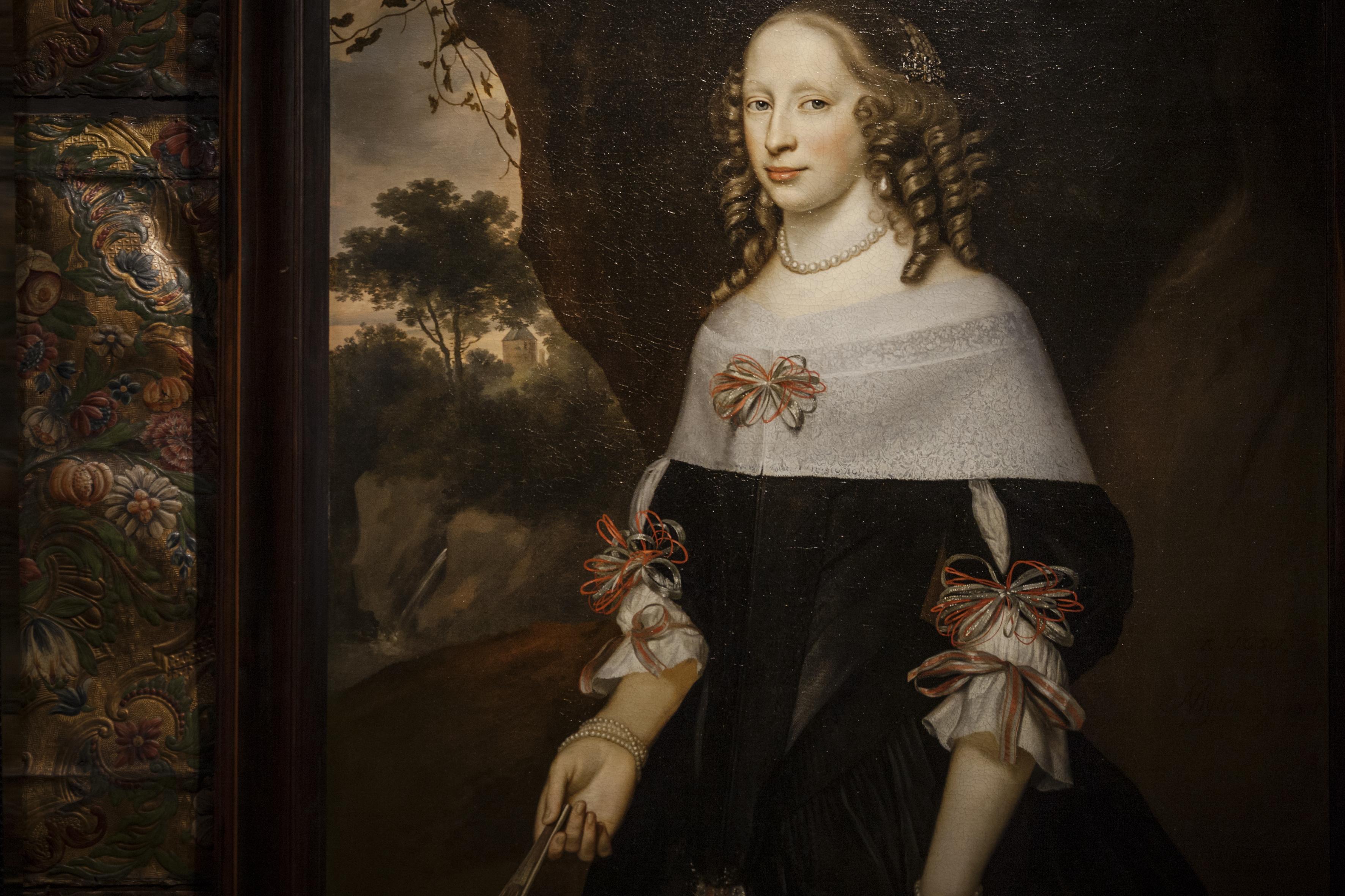 Portret van Margareta Riccen