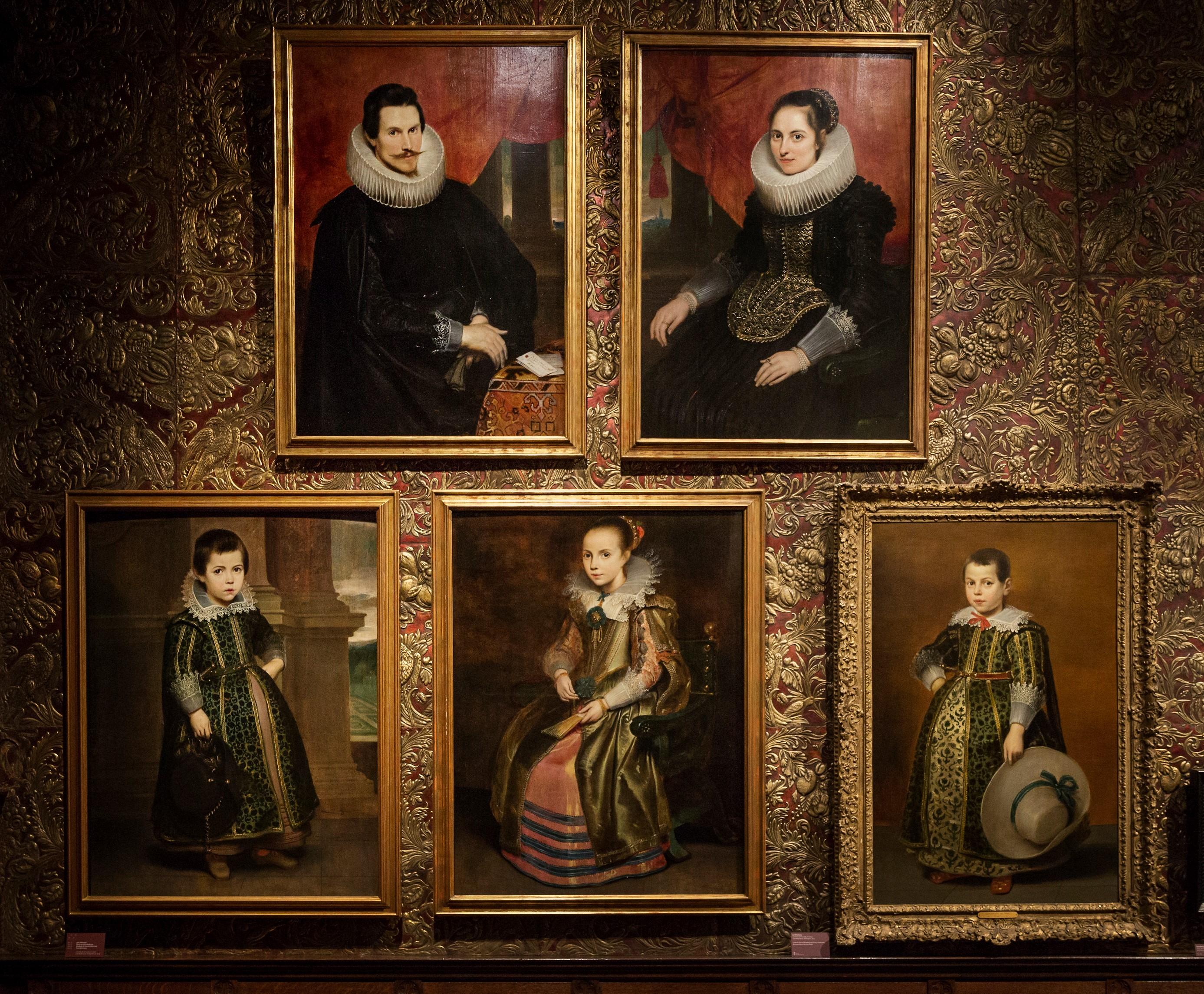 Portretten van de familie Vekemans